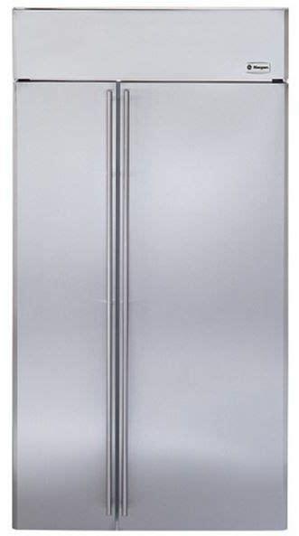 ge monogram  cu ft built  side  side refrigerator panel ready zissnhss prime