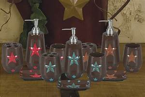 interior and bedroom star bathroom decor With texas star bathroom decor