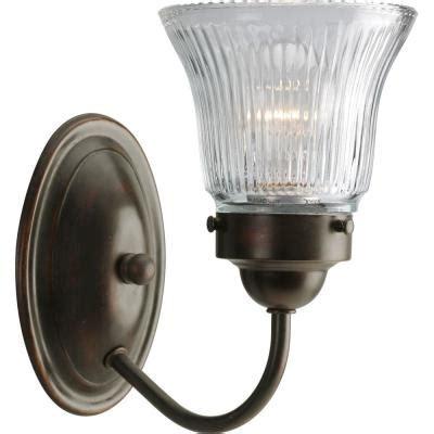 progress lighting fluted glass collection  light antique