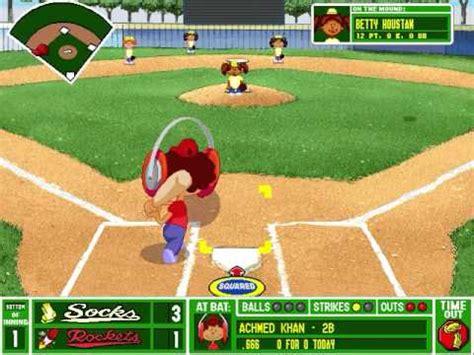 Backyard Baseball 1997 by Lets Play Backyard Baseball Pc 1997 Part 21 Go Go Gadget