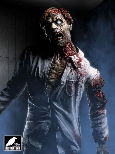 zombie promotional art resident evil remake art gallery