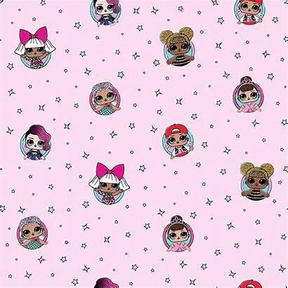 Lol Surprise Pink Background Dolls Bedroom Wallpapers