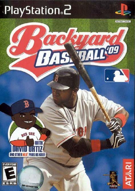 Backyard 2 Ps2 - backyard baseball 09 sony playstation 2