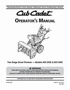 930 Swe Manuals