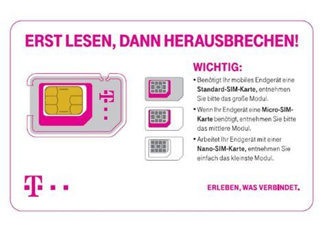 2 Sim Karte Telekom