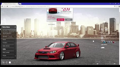 3d Tuning Cars And Styling, Tuning Car Online With Modding