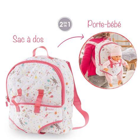 mon premier sac 224 dos porte b 233 b 233 accessoires petits poupons corolle 174 dmt320