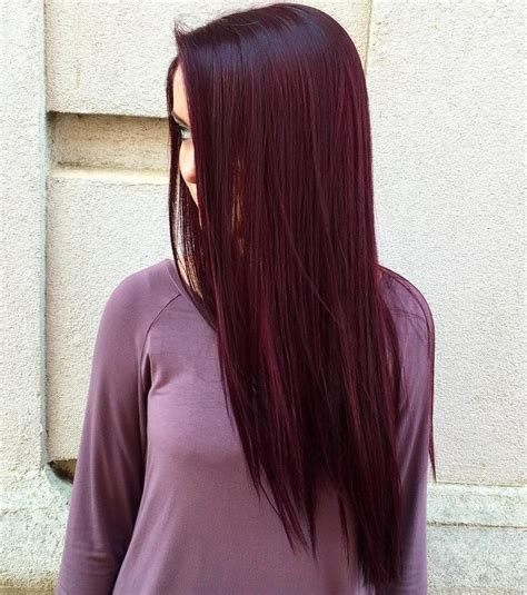 What Color Is Hair by Top 20 Transformations With Maroon Hair Color Hairstyles