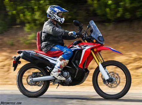 Review Honda Crf250rally by 2017 Honda Crf250l Rally Review Ride