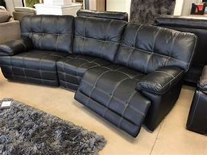 Electric sofas henry electric recliner corner rhf for Sectional sofa with electric recliner