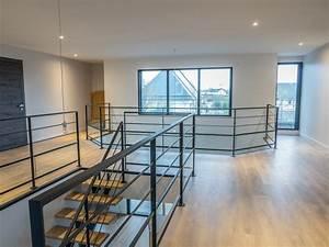 Garde Corp Escalier : garde corps acier sur mezzanine la suite divinox ~ Dallasstarsshop.com Idées de Décoration