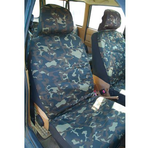 housses de sieges voiture ducatillon set housses de voiture camouflage chasse