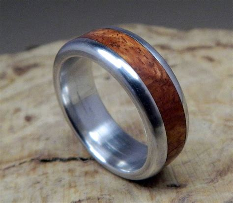 wooden wedding ring 15 inspirations of men s wedding bands wood inlay 1492