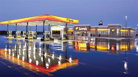 Loves Gas Station Travel Center Image & Photo | Bigstock