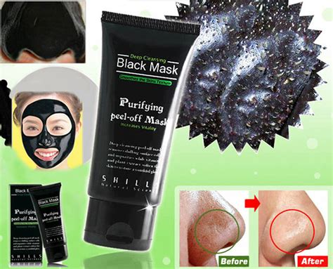 shills cleansing black mask purifying peel mask