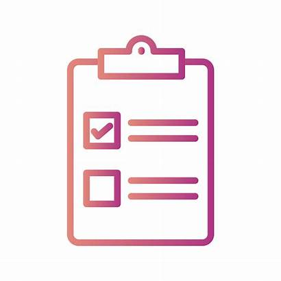 Checklist Icon Vector Clipart Graphics Keywords Related