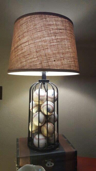baseball lamp baseball room decor baseball bedroom