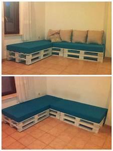 Pallets Sofa • Pallet Ideas • 1001 Pallets