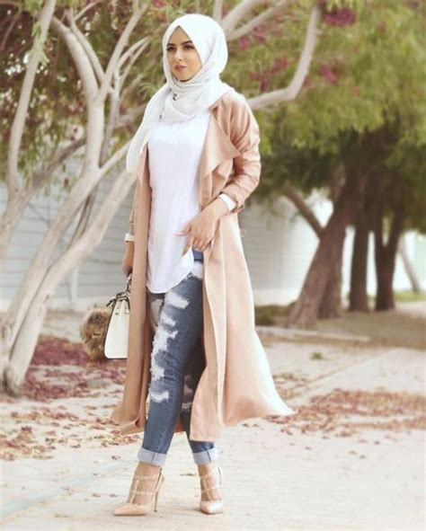 long cardigans  vests hijab trends  trendy girls