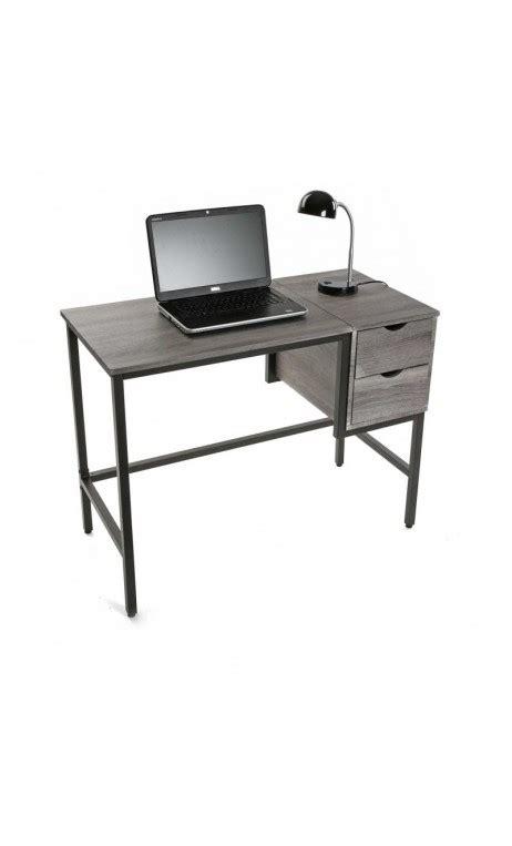 bureau bois acier achetez votre bureau industriel bois gris et acier buro