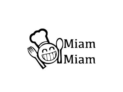 cuisine mat stickers miam miam