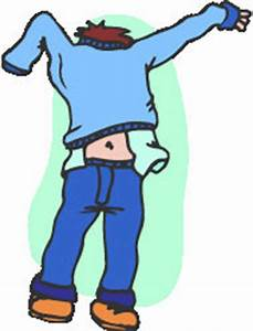 Cartoon Getting Dressed For School