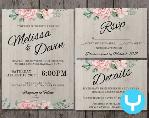 wedding invitations details sunshinebizsolutionscom