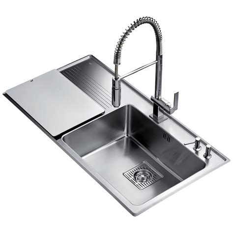 kitchen sink frame teka frame 1b 1d plus stainless steel left drainer 2718