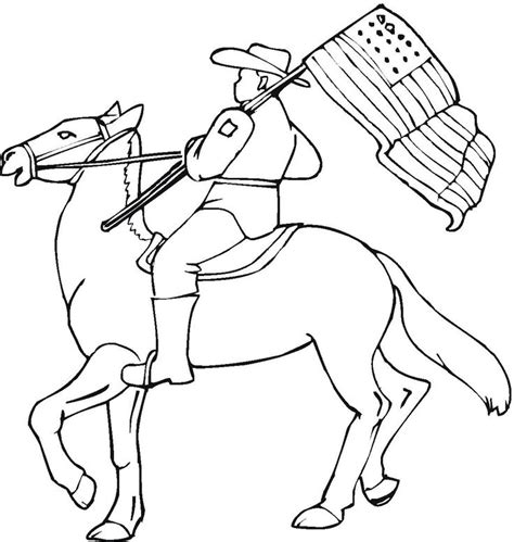 Cowboy Pictures To Color by 40 Best Cowboy Coloring And Images On