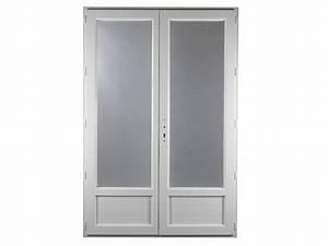 Porte Fenetre Pvc 2 Vantaux : porte fen tre pvc gamme e pro 2 vantaux h 205 x l 120 cm ~ Nature-et-papiers.com Idées de Décoration