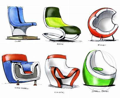 Sketch Sketching Chair Furniture Sketches Redesign Drawing