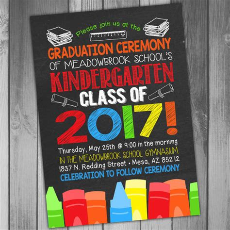 34 sample invitation templates psd ai free amp premium 270 | Sample Kindergarten Graduation Invitation