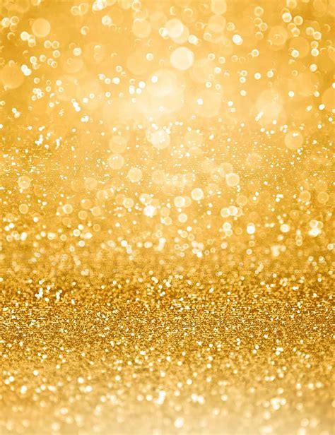 litter star bokeh  golden glitter background