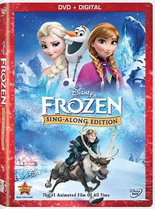 Frozen sing along dvd giveaway today39s parent for 1234 get on the dance floor video download