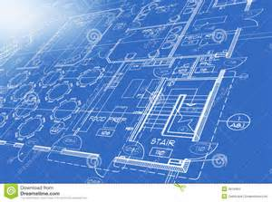 blue prints for a house blue print plan stock images image 6916494