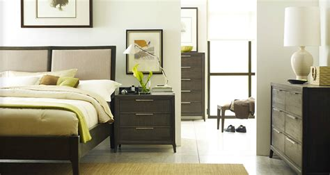 Chic Brownstone Furniture In Bedroom Modern With