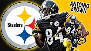 Steelers Antonio Brown Wallpaper HD - WallpaperSafari