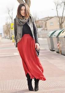 Crris LoveShoppingandFashion - Zara Skirt Zara Boots Zara Jacket - Long Skirt   LOOKBOOK