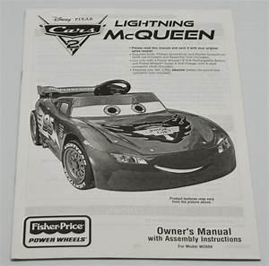 Power Wheels Lightning Mcqueen Manual  W2604