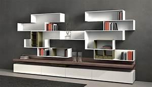 Etagere Murale Moderne : etag re murale design en 33 mod les surprenants ~ Teatrodelosmanantiales.com Idées de Décoration