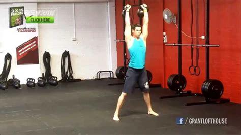 kettlebell double exercises