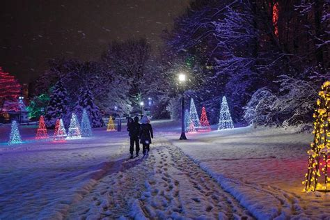 globe life park christmas lights from niagara to arizona these destinations offer a taste