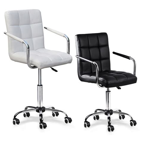 modern pu leather office chair gas lift swivel executive