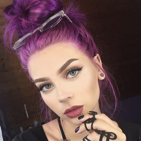 Pony Bright Purple Vegan Semi Permanent Hair Dye Lime Crime