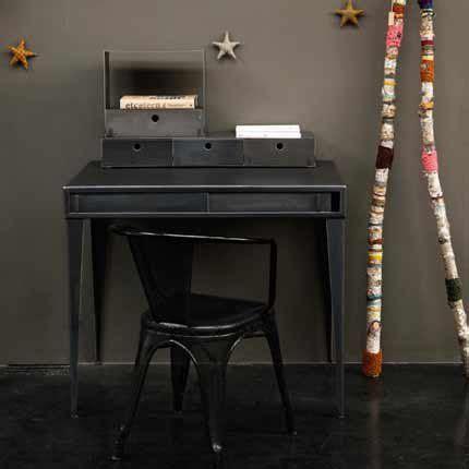 bureau enfant noir bureau acier bureau industriel bureau enfant bureau