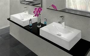 awesome douche salle de bain brico depot images design With porte de douche coulissante avec double vasque salle de bain brico depot