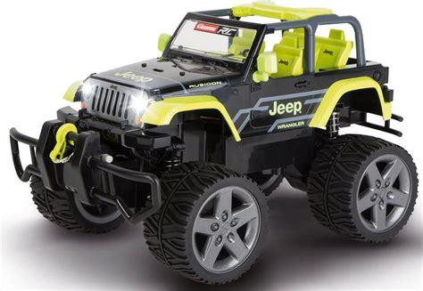 carrera rc fahrzeug carrera rc jeep wrangler rubicon set komplettset mit licht