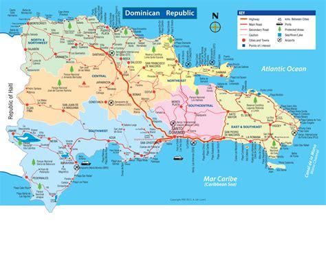 Punta Cana Carte Géographique Monde by Carte De La R 233 Publique Dominicaine
