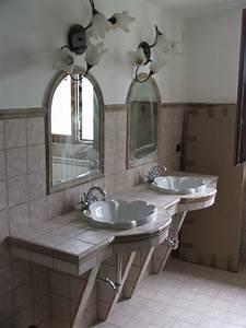 Foto  Bagno Patronale Con Piano Lavabi In Muratura Di Sp Porte Di Paolo Di Lorenzo  290767