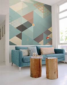 36 idees originales de decoration murale pour votre interieur With decoration murale design salon